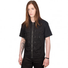 Black Pistol Chain Shirt Denim (black)