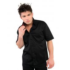 Black Pistol Outdoor Shirt Denim (black red)