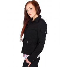 Black Pistol Glam Rock Jacket Wool (black)