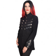 Black Pistol Ladys Army Jacket Denim (black)
