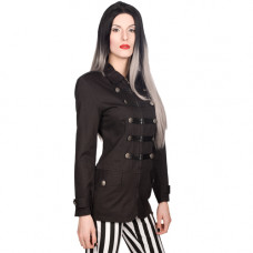 Black Pistol Ladys Noble Jacket Denim (black)