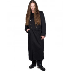 Black Pistol Army Coat Denim (black)