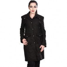 Black Pistol Ladys Moon Coat Wool (black)