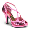Bordello SIREN-07SQ SIR07SQ/BP (B. Pink Sequins)