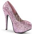 Bordello TEEZE-06G TEE06G/BP (AB. Pink Glitter)