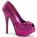Bordello TEEZE-22G TEE22G/HP (Oh. Pink Glitter)