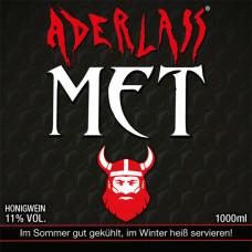 Aderlass Met Honigwein 11% vol. (1 Liter)