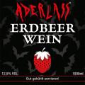 Aderlass Erdbeerwein 12,5% vol. (1 Liter)