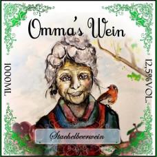 Ommas Stachelbeerwein 12,5% vol. (1 Liter)