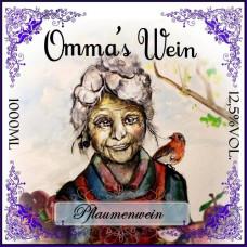 Ommas Pflaumenwein 12,5% vol. (1 Liter)