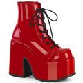 Demonia CAMEL-203 CAM203/R (Red Patent)