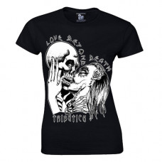 Tributica Girly Shirt Love Beyond Death (black)