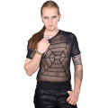 Lovesect Spider Shirt Chiffon (black)