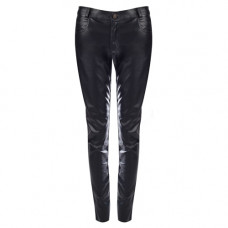 Mode Wichtig Skinny Pants Leatherette (black)