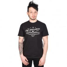 Mode Wichtig Ruhrpott T-Shirt Pottwear Auf Kohle geboren (black)