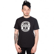 Mode Wichtig Ruhrpott T-Shirt Auf Kohle Geboren oval (black)