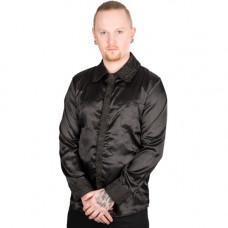 Mode Wichtig Classic Shirt Glossy Brocade (black)