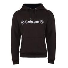Mode Wichtig Hoodie Kapuzen-Pullover Ruhrpott (black)
