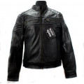 Mode Wichtig Mens Street Jacket Nappa Leather (black)