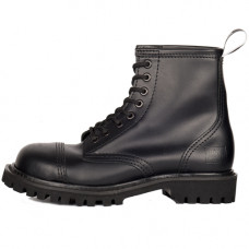 Mode Wichtig 8-Eye Steel Boots Leather (black)
