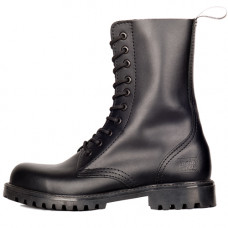 Mode Wichtig 10-Eye Classic Boots Leather (black)