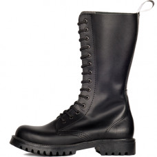 Mode Wichtig 14-Eye Classic Boots Leather (black)