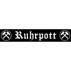 Ruhrpott Auto-Aufkleber Ruhrpott 30x5cm (black)