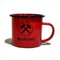 Vintage Tasse RUHRPOTT 350ml (red)