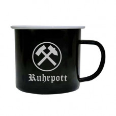 Vintage Tasse RUHRPOTT 500ml (black)