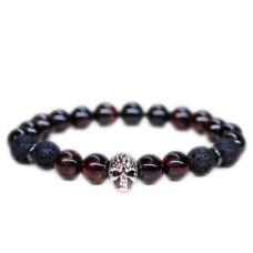 Mode Wichtig Bracelet Gothic Skull Armband (black)