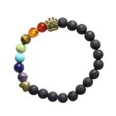 Mode Wichtig Bracelet Pet Memorial Armband (Rainbow)