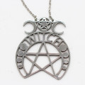 Mode Wichtig Necklace + Pendant Witch (Stainless Steel)