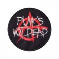 Patch Punks Not Dead Aufnäher 10cm (black)