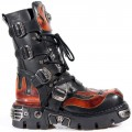 New Rock M.107-S1 (Fire, Black)