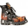 New Rock M.288-S1 (Fire, Black)