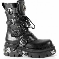 New Rock 373 ITALI Y NOMADA NEGRO, REACTOR NEGRO E14 TOBERAS OR Y CAN (BLACK, BLACK)