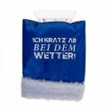 Ice Scraper Glove Eiskratzer Handschuh 27x15cm (blue)