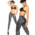 ATIXO Jeans-Print-Leggings (City)