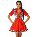 ATIXO Dirndl (Red White)