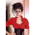ATIXO Dirndl-Bluse (red)