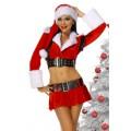 ATIXO Weihnachtskostüm (red / black / white)