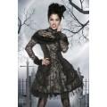 ATIXO Premium-Vampirkostüm (black / gray)