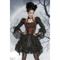 ATIXO Premium-Vampirkostüm (black red)
