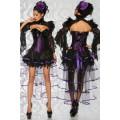 ATIXO Burlesque-Volant-Rock (black / purple)