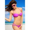 ATIXO Bandeau-Bikini (Pink)