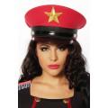 ATIXO Offiziersmütze (red)
