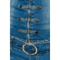 ATIXO Jeans-Overall (blau)