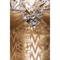 ATIXO Echtes Bandage-Shape-Kleid (Gold)