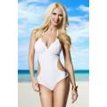 ATIXO luxuriöser Monokini (White)