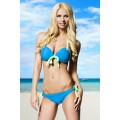 ATIXO Push-Up-Bikini (blue green)